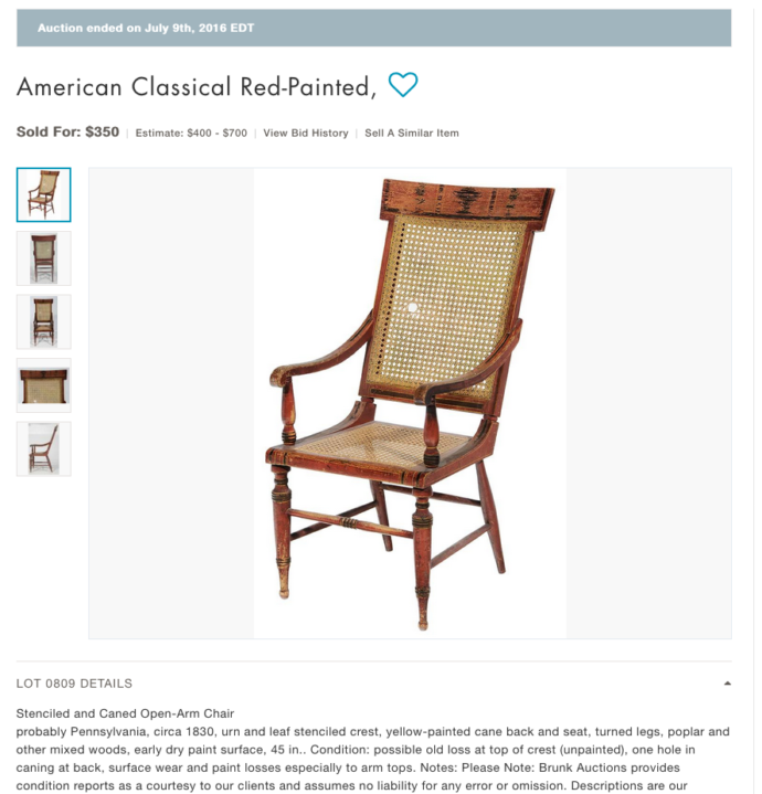 2nd-redchair-auction