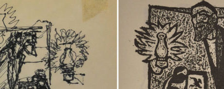 Harry & Bill: Making of a woodcut autobiography